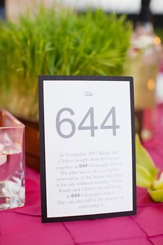 table numbers with meaning.  this is a bit long though...