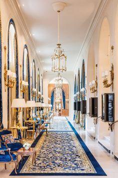 Ritz hotel in Paris.
