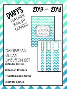DUFFS Teacher Binder Covers (Purple Ombre Binder Premium) So many watercolour / watercolor options! Teacher Binder Organization, Teacher Binder Covers, Sub Binder, Chevron, Student Data, Purple Ombre, Pta, The Duff, My Teacher
