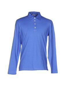 MATTABISCH Men's Polo shirt Bright blue XXL INT