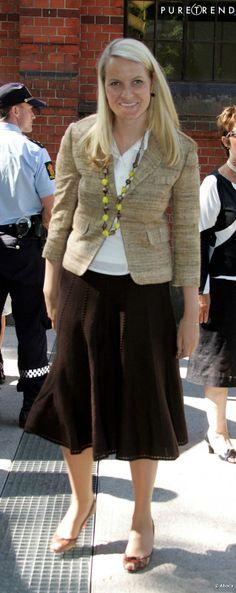 La princesse héritière Mette-Marit de Norvège