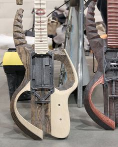 Maker Faire 2011: Modular Guitars by Praxis Turn Just About Anything Into a New Guitar : TreeHugger