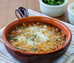 Meatless Monday: Slow Cooker Vegetarian Pasta e Fagioli Soup  by