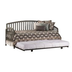 Coughlan Daybed with Trundle Color: Stone - http://delanico.com/daybeds/coughlan-daybed-with-trundle-color-stone-662759116/