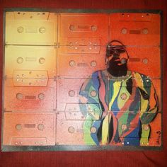 Notorious B.I.G on Tapes by JohnBVisualDesign on Etsy