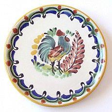 Emilia Ceramics Rooster Mini Plate
