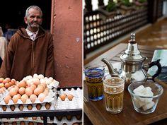 Marrakech - i mercati