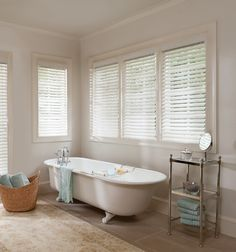 Levolor Faux Wood Blinds have the look of real wood grain with the protection and strength of composite materials. Pumpkin Sugar Cookies, Eggnog Cookies, Chocolate Chip Cookie Cups, Pecan Pie Bars, Faux Wood Blinds, Pudding Cookies, Blinds For Windows, Window Blinds, Clawfoot Bathtub