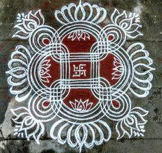 Rangoli Designs Latest, Rangoli Designs Flower, Rangoli Patterns, Rangoli Designs Diwali, Rangoli Designs With Dots, Rangoli Designs Images, Kolam Rangoli, Rangoli With Dots, Beautiful Rangoli Designs