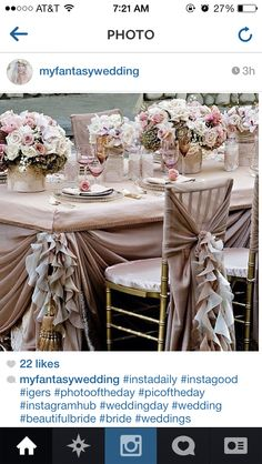 Like the chair cover style