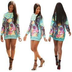 MS. BULLY SWEATER DRESS