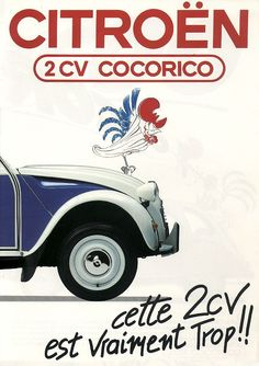 Cocoricoooo we baptize our board devoted to old Citroën ads! #Citroën #Ads #Vintage