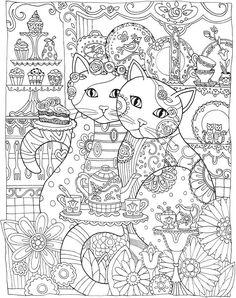 Art du coloriage de chats !!!!