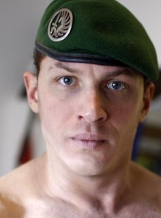 "Tom Hardy in Greg Williams' short film  ""Sergeant Slaughter, My Big Brother"""