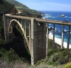 Bixby Creek Bridge, Big Sur, Calif., image