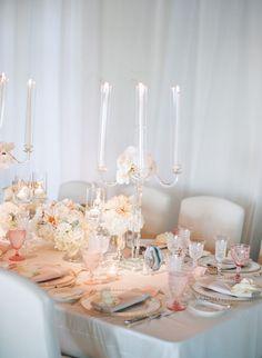 Featured Photographer: Elizabeth Messina Photography; wedding centerpiece idea