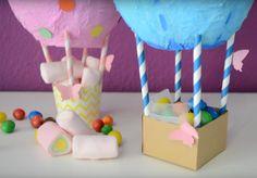 Como hacer globos aerostaticos para regalar en cumpleaños -DIY-