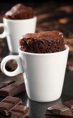 Mug Cake Cœur Coulant au Chocolat Alsa®