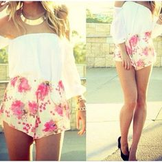 romper or shirt and shorts? either way i love it