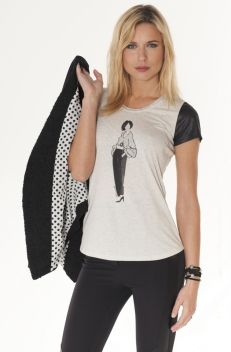 MISS TREND - VESTE POCHES ZIPPEES