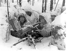Finnish Soldiers WW2 Winter War.