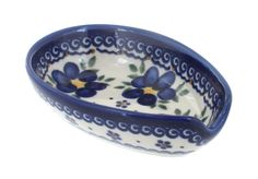 Polish Pottery Spring Blossom Small Spoon Rest -- More forbidden discounts at the link of image : Bakeware