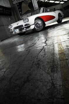 #Chevrolet #Corvette C1 1959 - What a #Beauty! #Classic #American #SportsCar #Style #Speed #Design