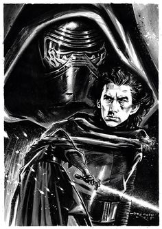 Star Wars VII - The Force Awakens / Kylo Ren / Drumond Art