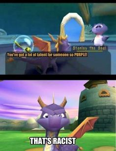 A lot of memories playing Spyro. I remember having to leave the PS2 on because I had no way of saving the game.