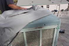How To Winterize A Swamp Cooler: Install The Swamp Cooler Cover