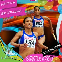 Happy Birthday Christine Arron!!! Retired, Track and Field Sprinter of Guadeloupe descent!!! Today we celebrate you!!! #ChristineArron #islandpeeps #islandpeepsbirthdays #Sprinter #trackandfeild #Guadeloupe
