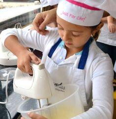 Cursos e oficinas de culinária para crianças