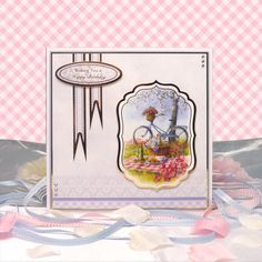 All the Girls by Hunkydory Crafts. Card made using 'The Perfect Picnic' topper set