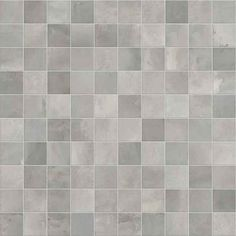Shopping for tiles this weekend? We love these mosaic kitchen wall tiles in beautiful, light shades of grey. Kitchen Wall Tiles, Bathroom Flooring, Clay Tiles, Mosaic Tiles, White Square Tiles, Ceramic Texture, Metro Tiles, Timber Flooring, Light Shades
