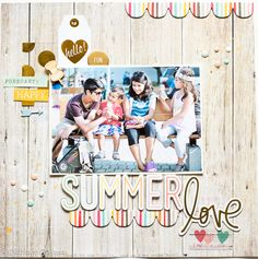 SUMMER+LOVE - Love the forecast! And the scallops...Scrapbook.com