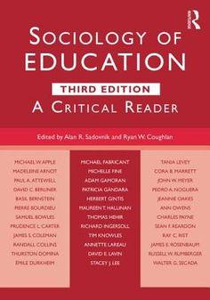 #newbook: Sociology of Education./by Alan R. LC191.2SOC
