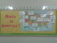 Computer Lab Bulletin Board in Middle School Lab