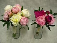 Peony handtied bouquets