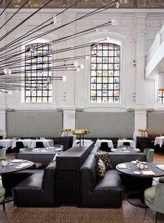 Una iglesia transformada en restaurante por el estudio Piet Boom en Amberes | DEF Deco - Decorar en familia