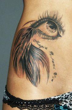Tattoo Artist - Chiara Manzini - eyes tattoo   www.worldtattoogallery.com