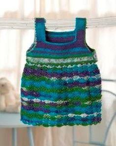 "Download Free ""Crocheted Pretty Sundress"" Pattern    http://premieryarns.com/patterns.php?id=178"