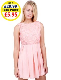 WOMENS FASHION FLORAL EMBROIDERED SKATER DRESS  WholesaleClothing   ClothingWholesaleDistributorUK 56a8c38c9