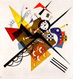 Wassily Kandinsky - In White, 1923