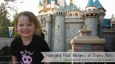 food allergies at Disney parks