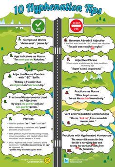 10 hyphenation tips