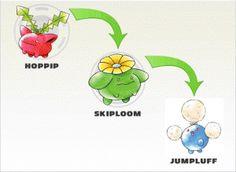 Hoppip evolution