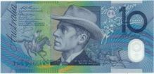 Banjo Patterson appears on our 10 dollar note depicting The Man From Snowy River