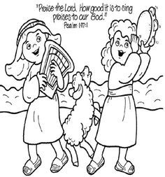 jehoshaphat bible coloring pages - photo#8