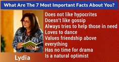What Are The 7 Most Important Facts About You?