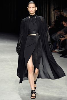 Jacket, Top and Skirt by Damir Doma Spring 2012